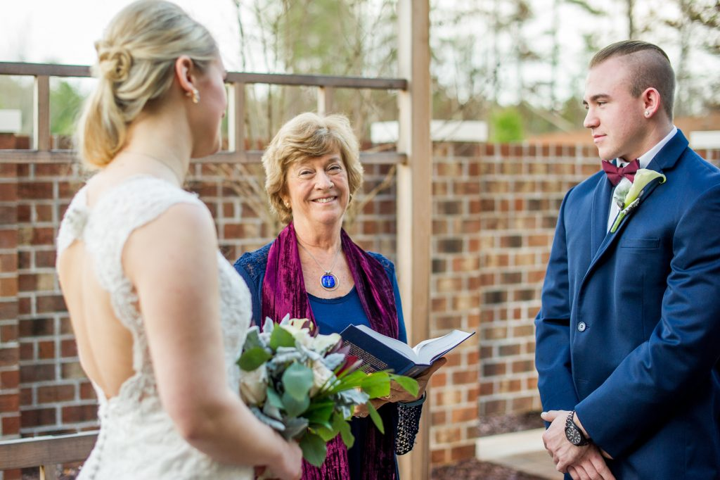Raleigh Wedding Officiant Joy Filled Ceremonies Ann Mckenzie