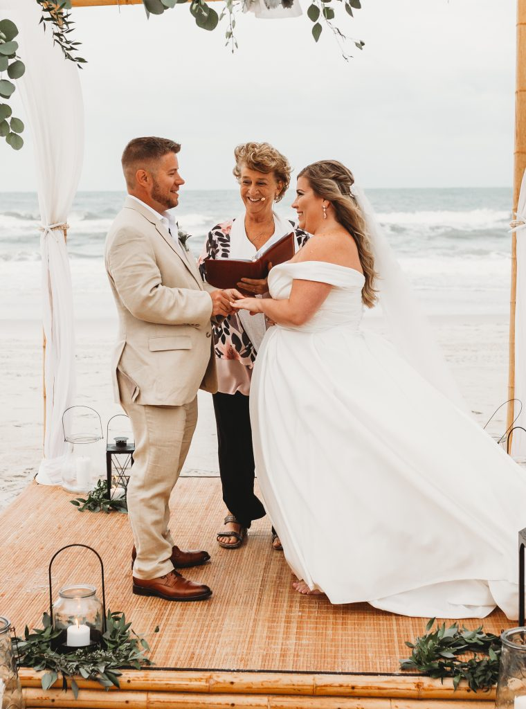 Ann McKenzie- RFyan Shedrick Photography- beach wedding